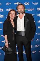 Bernard Yerl&egrave;s  &amp; sa femme Laetitia Reva :  7&egrave;me C&eacute;r&eacute;monie des Magritte du Cin&eacute;ma, qui r&eacute;compense le septi&egrave;me art belge, au Square, &agrave; Bruxelles.<br /> 7th edition of the Magritte du Cinema awards ceremony.<br /> Belgium, Brussels, 4 February 2017