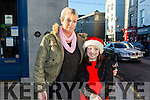 Enjoying the CH Chemist Annual Santa Parade on Saturday were Caroline Fitzgerald and Shannon Fitzgerald, Tralee