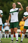 04 September 2015: William & Mary's Katie Johnston. The Wake Forest University Demon Deacons played the William & Mary University Tribe at Dail Soccer Field in Raleigh, NC in a 2015 NCAA Division I Women's Soccer game. The game ended in a 1-1 tie.