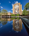 May 3, 2016; Hesburgh Library Word of Life Mural, commonly known as Touchdown Jesus. (Photo by Matt Cashore/University of Notre Dame)