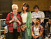 Little Revolution by Alecky Blythe<br /> Almeida Theatre, London, Great Britain <br /> press photocall<br /> 2nd September 2014 <br /> <br /> Ronni Ancona (as Kate) <br /> <br /> Imogen Stubbs (as Sarah) <br /> <br /> Michael Shaeffer (as Tony)<br /> <br /> Barry McCarthy as Ian)<br /> <br /> Rez Kempton (as Shiva)<br /> <br /> Lloyd Hutchinson as Father Rob)<br /> <br /> Alecky Blythe as writer <br /> <br /> Melanie Ash as Sadie <br /> <br /> Bayo Gbadamosi as Kyle <br /> <br /> Clare Perkins as Elaine<br /> <br /> Lucian Msamati as Colin <br /> <br /> Rufus Wright as Alan <br /> <br /> Photograph by Elliott Franks <br /> Image licensed to Elliott Franks Photography Services