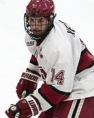 Alexander Kerfoot (Harvard - 14) - The Harvard University Crimson tied the visiting Yale University Bulldogs 1-1 on Saturday, January 21, 2017, at the Bright-Landry Hockey Center in Boston, Massachusetts.
