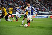 VOETBAL: HEERENVEEN: Abe Lenstra Stadion 04-04-2015, SC Heerenveen - NAC, uitslag 0-0, Sam Larsson (#11), ©foto Martin de Jong
