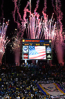 CARSON, CA - November 20, 2011: The MLS Cup match between LA Galaxy and Houston Dynamo at the Home Depot Center in Carson, California. Final score LA Galaxy 1, Houston Dynamo 0.