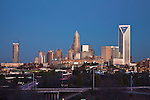 A current photo of the Charlotte NC skyline Photo by Photo Charlotte LLC