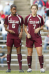 28 November 2008: Texas A&M's Whitney Hooper (6) and Rachel Shipley (7). The University of North Carolina Tar Heels defeated the Texas A&M University Aggies 1-0 in double overtime at Fetzer Field in Chapel Hill, North Carolina in a Fourth Round NCAA Division I Women's college soccer tournament game.