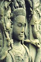 Angkor Wat Temple. Siam Reip, Cambodia. 2004. Spotmatic Pentax film camera. 2004. Spotmatic Pentax film camera.