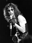 """Alice Cooper 1979 on 'Midnight Special"""".© Chris Walter."""