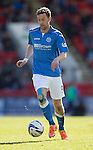 St Johnstone v Dundee....11.04.15   SPFL<br /> Steven MacLean<br /> Picture by Graeme Hart.<br /> Copyright Perthshire Picture Agency<br /> Tel: 01738 623350  Mobile: 07990 594431