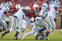STANFORD, CA - September 2, 2016: Thomos Solomon at Stanford Stadium in the season opener. The Stanford Cardinal defeated Kansas State 26 - 13.