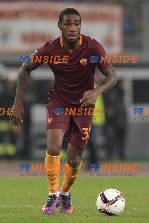 Gerson Roma <br /> Roma 20-10-2016  Stadio Olimpico <br /> Football Calcio Europa League AS Roma - Austria Wien <br /> Foto Antonietta Baldassarre / Insidefoto