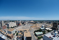 1997 June 05..Redevelopment..Macarthur Center.Downtown North (R-8)..LOOKING NORTH.FROM MAIN STREET TOWER.SUPERWIDE..NEG#.NRHA#..