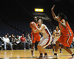 "Ole Miss vs. Auburn in women's college basketball at the C.M. ""Tad"" SMith Coliseum in Oxford, Miss. on Thursday, February 25, 2010."