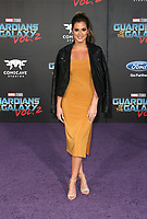 """HOLLYWOOD, CA - April 19: JoJo Fletcher, At Premiere Of Disney And Marvel's """"Guardians Of The Galaxy Vol. 2"""" At The Dolby Theatre  In California on April 19, 2017. Credit: FS/MediaPunch"""