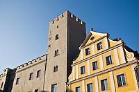 Goldenes Kreuz turm tower, Regenburg, Germany