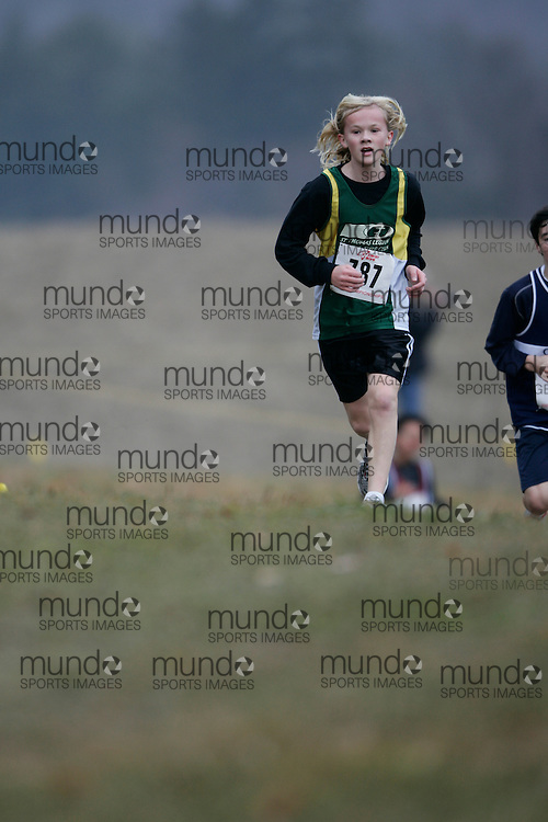 King City, Ontario ---09-11-15--- Jed Walker of the St. Thomas Legion Track and Fi competes at the Athletics Ontario Cross Country Championships in King City, Ontario, November 16, 2009..GEOFF ROBINS Mundo Sport Images