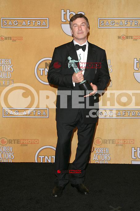 LOS ANGELES, CA - JANUARY 27: Alec Baldwin in the press room at The 19th Annual Screen Actors Guild Awards at the Los Angeles Shrine Exposition Center in Los Angeles, California. January 27, 2013. Credit: mpi27/MediaPunch Inc. /NortePhoto /NortePhoto