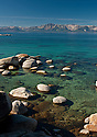 Lake Tahoe Landscape Southshore Clear Water