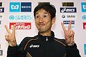 Arata Fujiwara (JPN), February 26, 2012 - Marathon : Tokyo Marathon 2012 .at Tokyo Big Sight, Tokyo, Japan. (Photo by Daiju Kitamura/AFLO SPORT) [1045]