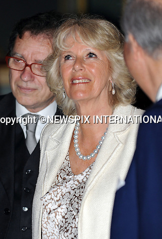 """PRINCE CHARLES and CAMILLA_Duchess of Cornwall.Visit """"Teatro La Fenice"""" in  Venice on the second day of thier Itailian tour to watch an Opera_Venice_28/04/2009.Mandatory Photo Credit: ©Dias/Newspix International..**ALL FEES PAYABLE TO: """"NEWSPIX INTERNATIONAL""""**..PHOTO CREDIT MANDATORY!!: NEWSPIX INTERNATIONAL(Failure to credit will incur a surcharge of 100% of reproduction fees)..IMMEDIATE CONFIRMATION OF USAGE REQUIRED:.Newspix International, 31 Chinnery Hill, Bishop's Stortford, ENGLAND CM23 3PS.Tel:+441279 324672  ; Fax: +441279656877.Mobile:  0777568 1153.e-mail: info@newspixinternational.co.uk"""