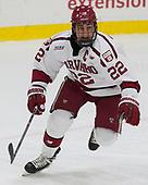 Devin Tringale (Harvard - 22) - The Harvard University Crimson defeated the visiting Cornell University Big Red on Saturday, November 5, 2016, at the Bright-Landry Hockey Center in Boston, Massachusetts.