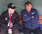 Buddy Powers (BU - Assistant Coach), Joe Bertagna - The University of Maine Black Bears defeated the Boston University Terriers 7-3 (2EN) on Saturday, January 11, 2014, at Fenway Park in Boston, Massachusetts.