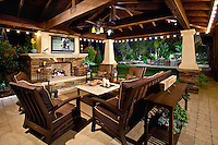 Stock Photos of Orange County Homes and Gardens