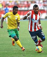 Atlético Junior vs Real Cartagena, Copa Postobón 2014. 9-07-2014