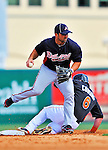 13 March 2012: Atlanta Braves infielder Dan Uggla in action during a Spring Training game against the Miami Marlins at Roger Dean Stadium in Jupiter, Florida. The two teams battled to a 2-2 tie playing 10 innings of Grapefruit League action. Mandatory Credit: Ed Wolfstein Photo