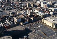 1995 February 23..Redevelopment.Tidewater Community College..LOOKING WEST OVER MARKET STREET..NEG#.NRHA#..