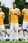 05 September 2016: VCU's Jorge Herranz (ESP). The University of North Carolina Tar Heels hosted the Virginia Commonwealth University Rams at Fetzer Field in Chapel Hill, North Carolina in a 2016 NCAA Division I Men's Soccer match. UNC won the game 3-2.