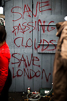 "17.09.2016 - ""March To Save Passing Clouds & London's Music Venues!"""