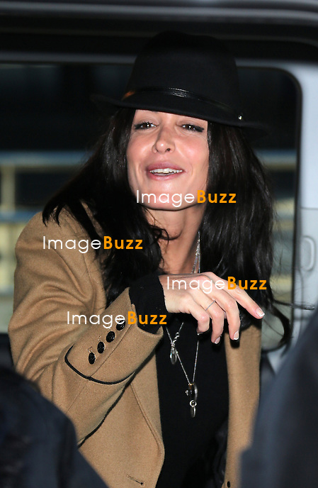 JENIFER/ January 25,, 2013- Jenifer arriving at Nice airport to attend the NRJ Music Awards in Cannes, France.
