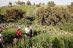 Day 3 - Nahal Jilaboun - Canyon hike. (Photo by Brian Garfinkel)