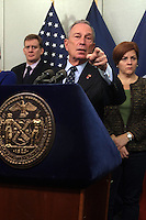 New York City Mayor Michael Bloomberg Updates New Yorkers  about Hurricane Sandy