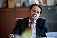 Rasim Ljaic, Minister for Minorities in the Government of Serbia and until recently part of the Action Group set up by the government to coordinate the hunt for former Bosnian Serb general Ratko Mladic. He promised that if, by the end of 2009, Mladic was not caught he would resign from the Action Group. At the end of 2009 he resigned from the Action Group. Mladic is one of the most sought after suspects from the Bosnia conflict. He has been indicted by the UN war crimes tribunal on charges of genocide and crimes against humanity.