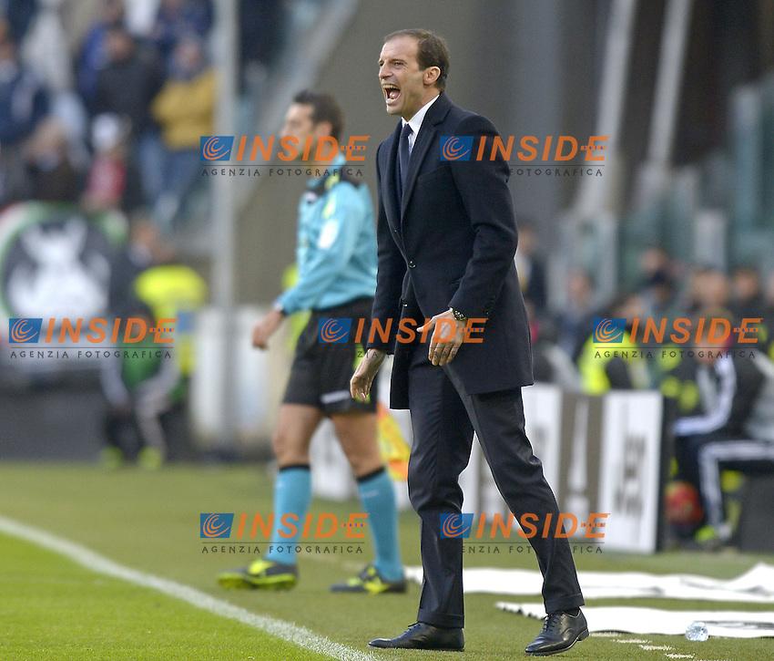 Massimiliano Allegri,<br /> Torino 06-01-2016, Juventus Stadium, Football Calcio 2015/2016 Serie A, Juventus - Verona, Foto Filippo Alfero/Insidefoto