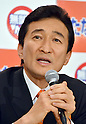 File Photo: Showing Miki Watanabe, candidate for the April 10 Tokyo Gubernatorial Election. Official campaigning starts on March 24th and there are five candidates in the race. Photo shows Japanese entrepreneur Miki Watanabe speaking at the start of  a news conference at a Tokyo hotel where he makes an official announcement of his candidacy for the Tokyo gubernatorial election on Tuesday, February 15, 2011. The 51-year-old head of a restaurant chain will face incumbnent Gov. Shintaro Ishihara and comedian-turned-politico Hideo Higashikokubaru as well as 2 other candidates in the race. (Photo by Natsuki Sakai/AFLO) [3615] -mis-..