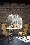 porch at El Tovar Hotel