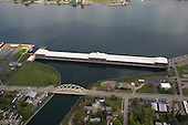 Edison Sault Power Station, Sault Ste Marie, Upper Peninsula of Michigan.