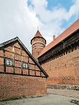 Olsztyn, 2014-05-18. Zamek Kapituły Warmińskiej w Olsztynie