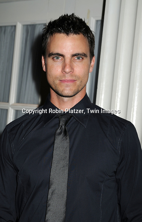 Colin Egglesfield of All My Children.at The 19th Annual Marcia Tovsky Pre-Daytime Emmy Party on June 11, 2008 at Nikki Midtown in New York City. ..Robin Platzer, Twin Images
