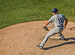 27 April 2014: San Diego Padres pitcher Huston Street on the mound closing out the game against the Washington Nationals at Nationals Park in Washington, DC. The Padres defeated the Nationals 4-2 to to split their 4-game series. Mandatory Credit: Ed Wolfstein Photo *** RAW (NEF) Image File Available ***