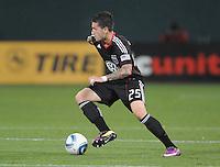 DC United midfielder Santino Quaranta (25)    DC United tied The Colorado Rapids 1-1, at RFK Stadium, Saturday  May 14, 2011.