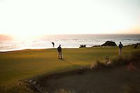#11 green, Pacific Dunes, Bandon Dunes Golf Resort, Bandon Oregon