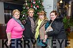 Phyllis Nolan, Masella Bolster, Josephine Kaley, Amanda McCarthy enjoying the Ashe Hotel Christmas party night on Saturday