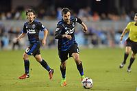 San Jose, CA - Friday April 14, 2017: Chris Wondolowski  during a Major League Soccer (MLS) match between the San Jose Earthquakes and FC Dallas at Avaya Stadium.