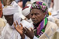 Praying. Argungu, Nigeria.