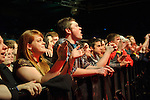 Fans at Pop's in Sauget, IL for Awolnation on January 21, 2012.