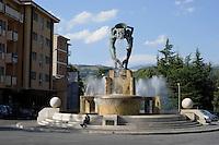 L'Aquila.La Fontana Luminosa.